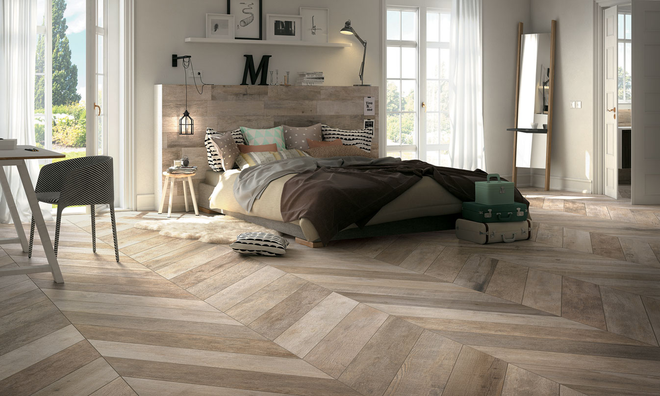 NooN Noon Ceramic Wood Effect Tiles By Mirage Mirage - Carrelage e wood