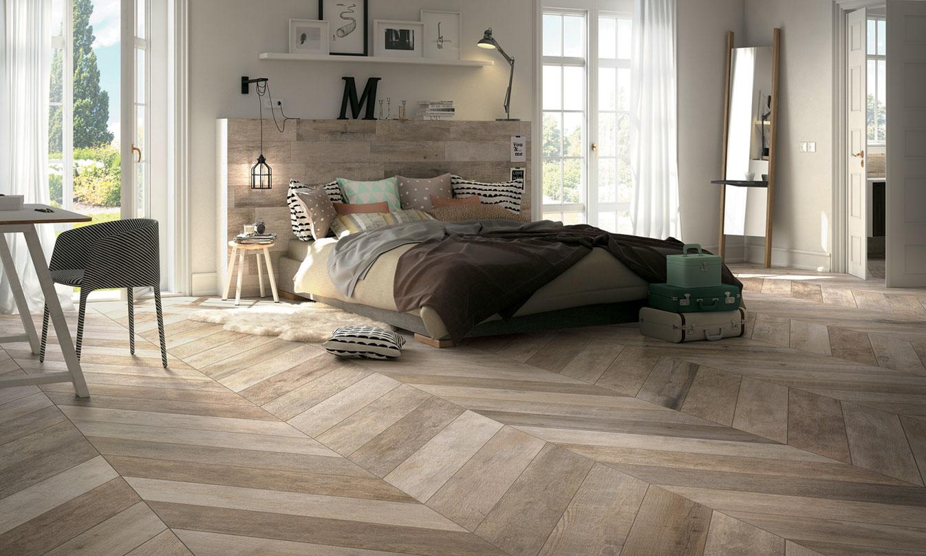 pavimenti in gres porcellanato effetto legno | mirage - Piastrelle Effetto Legno Senza Fughe