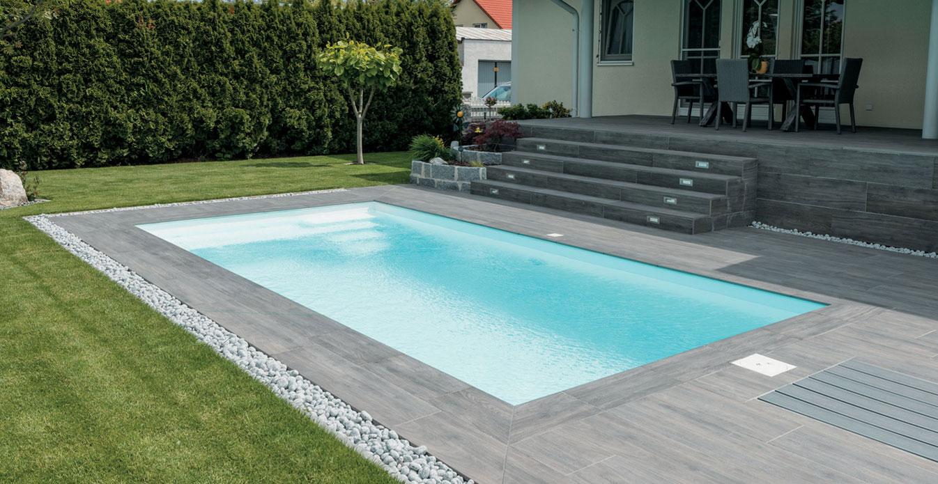 Vantaggi delle piastrelle per esterno evo 2e evo 2 e mirage - Rivestimento piastrelle per piscine ...