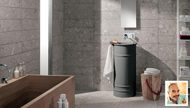 Ceramiche per bagni e Idee piastrelle bagno  Mirage