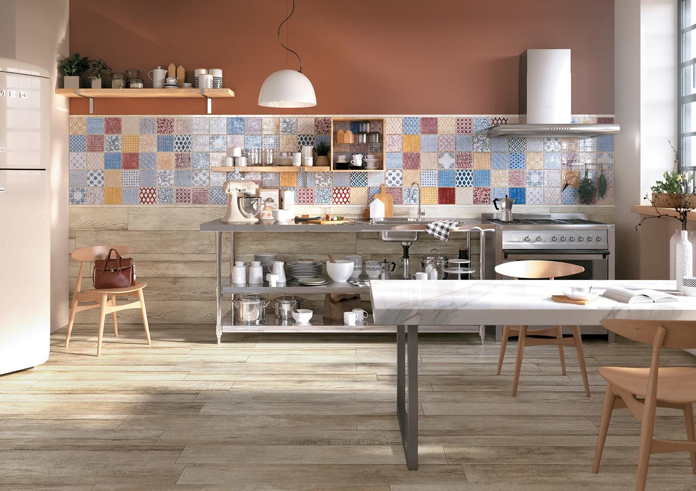 Maioliche di sant 39 antonio mix hmade mirage for Maioliche cucina