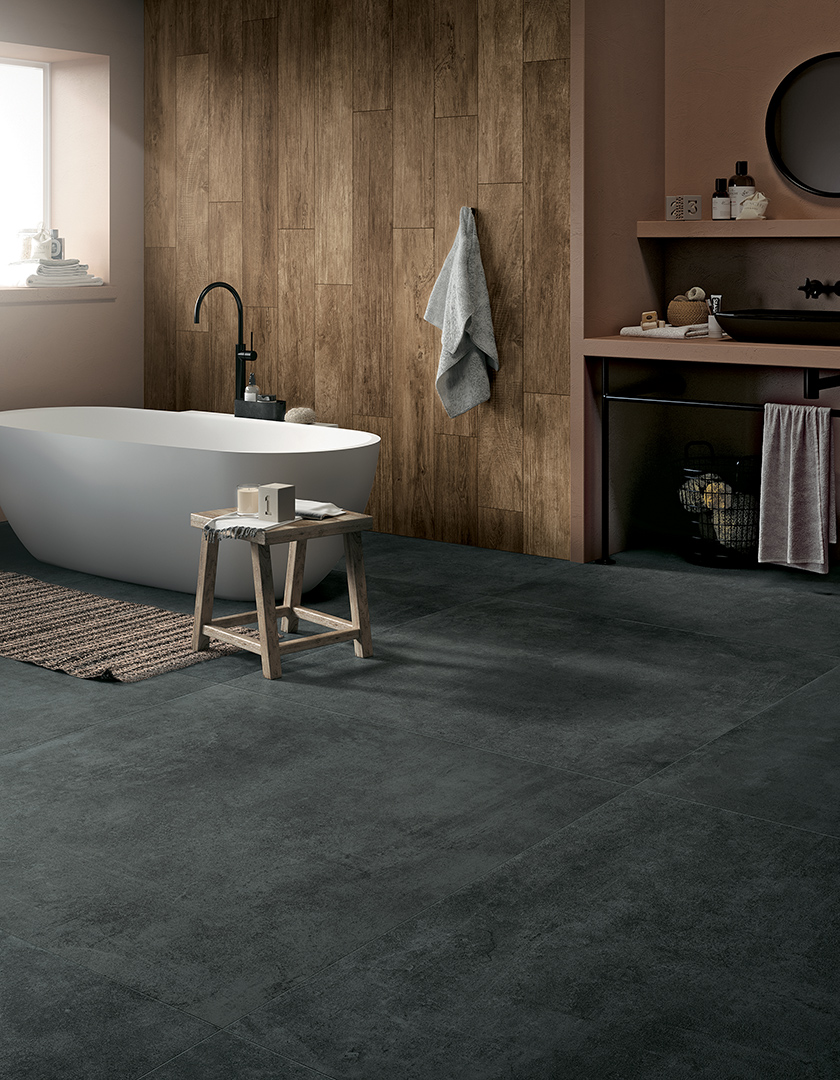 Glocal glocal the new smooth concrete collection mirage for Unusual floor coverings