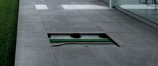Pavimenti sopraelevati spazio intelligente mirage - Pavimenti galleggianti per esterni ...
