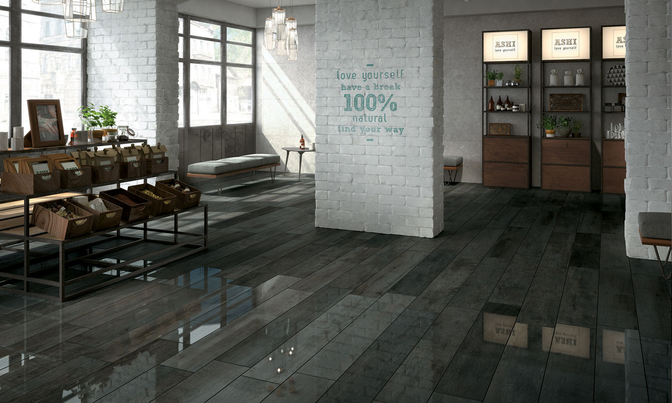 Noon noon ceramic wood effect tiles by mirage mirage for Carrelage 05