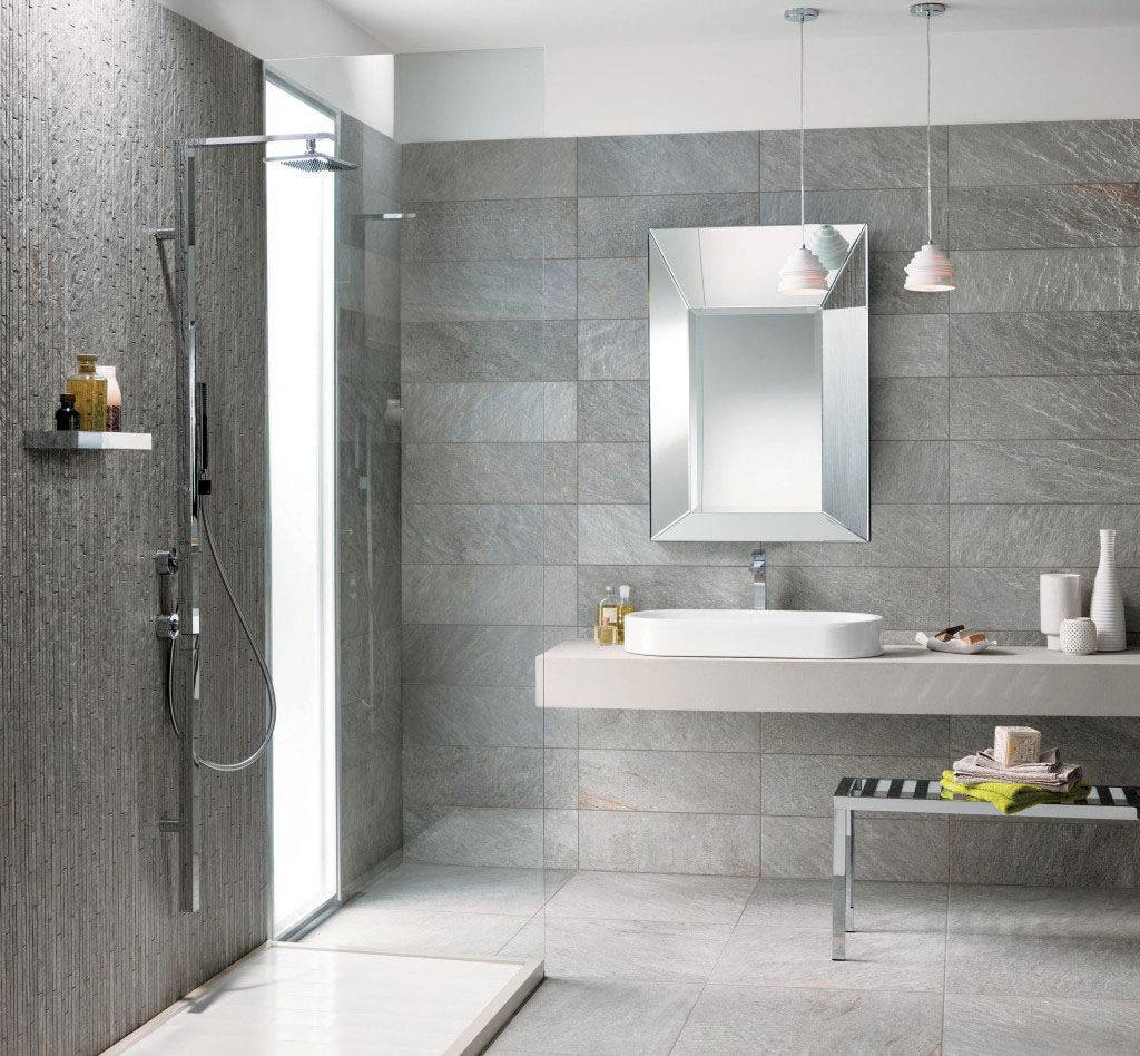 Waterfall qr 03 quarziti 20 mirage for Fall in shower floor