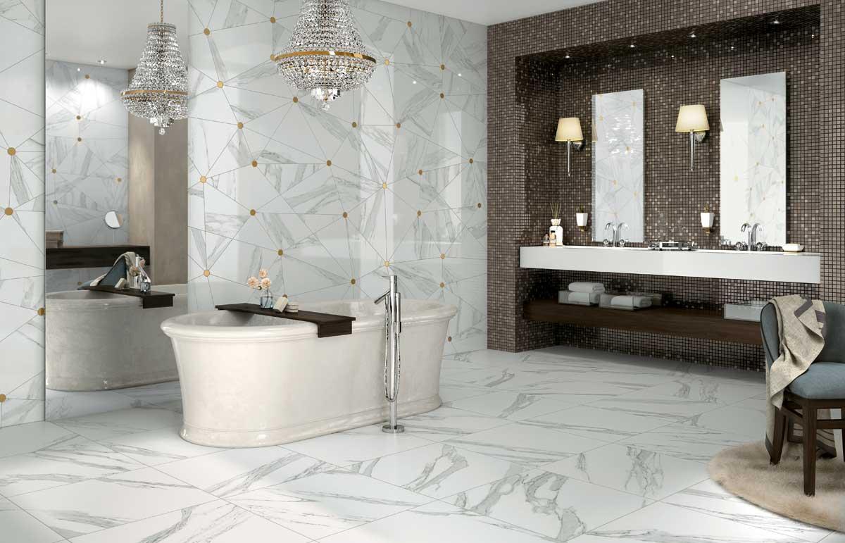 Jewels jewels pavimenti effetto marmo mirage - Stucco per piastrelle ceramica ...