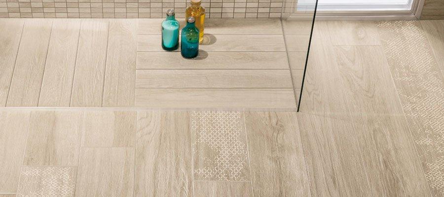 Effetto legno in bagno? se è gres porcellanato, è ancora meglio ...