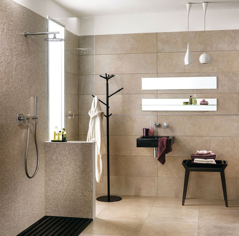 Soluzioni per bagni piccoli moderni: collezione TriBeCa  Mirage