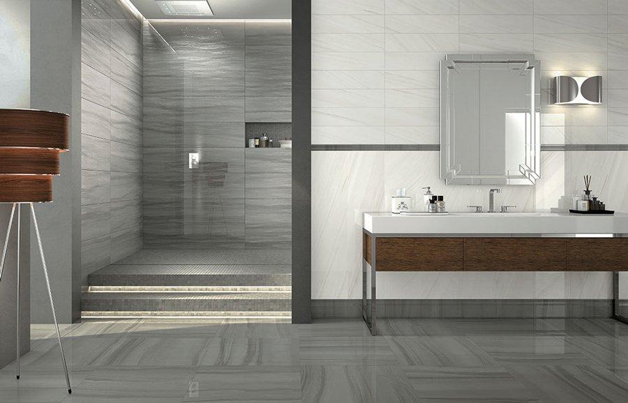 Le tendenze 2017 per il design del bagno mirage - Pareti bagno senza piastrelle ...