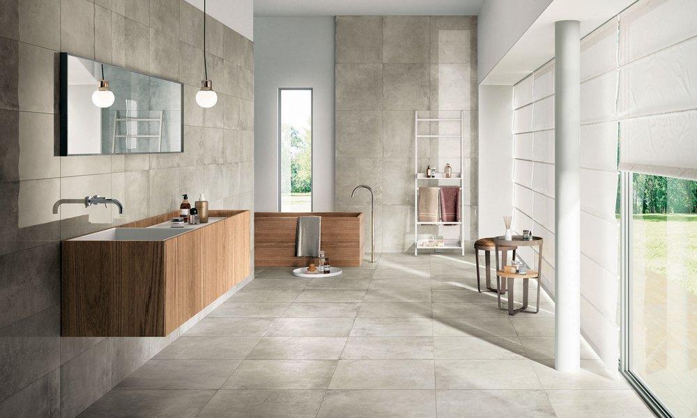 Piastrelle moderne per pavimenti a passo con i tempi - Piastrelle ceramica tipo parquet ...