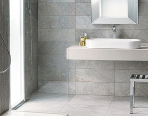 The 5 basic combinations for the floor and wall coverings in your bathroom mirage - Pavimento e rivestimento bagno uguale ...