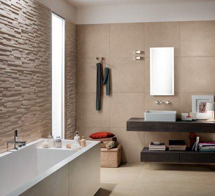 Rivestimenti bagno in gres porcellanato mirage - Bagno moderno piastrelle ...
