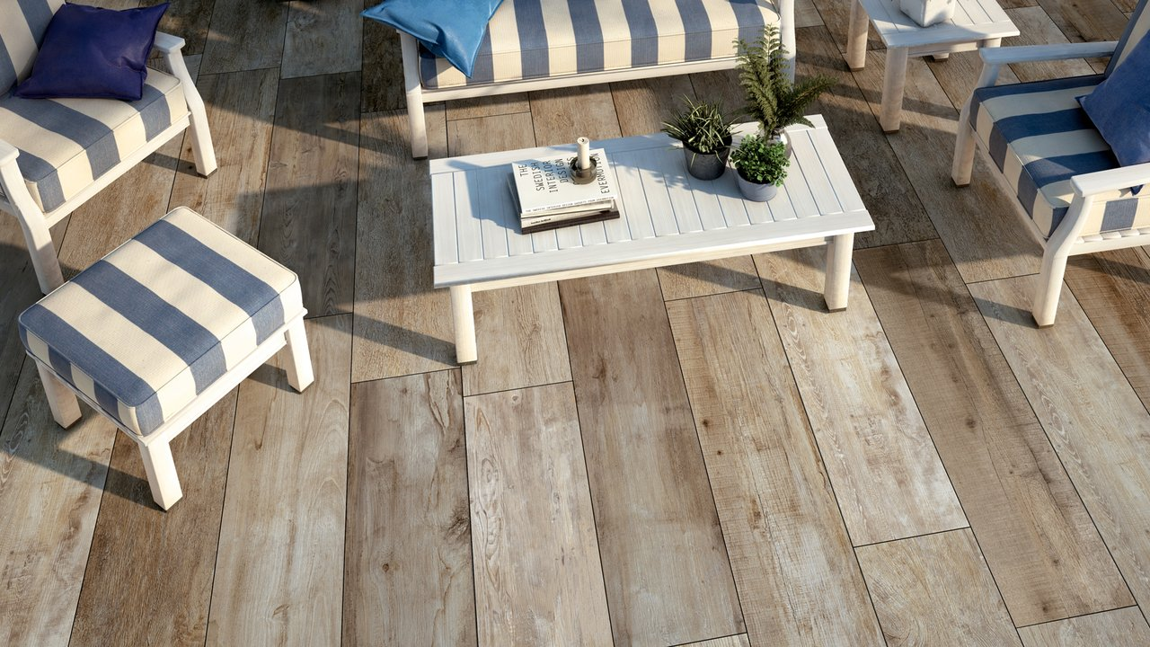 Noon noon ceramic wood effect tiles by mirage mirage for Gres porcellanato carrelage