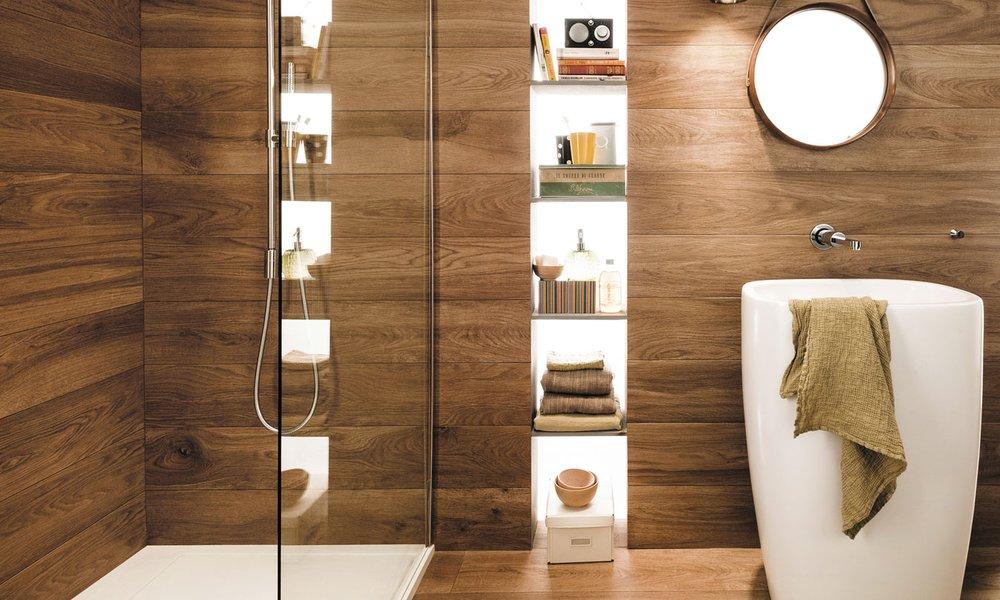 Pavimenti in gres porcellanato effetto legno mirage - Piastrelle in finto legno ...