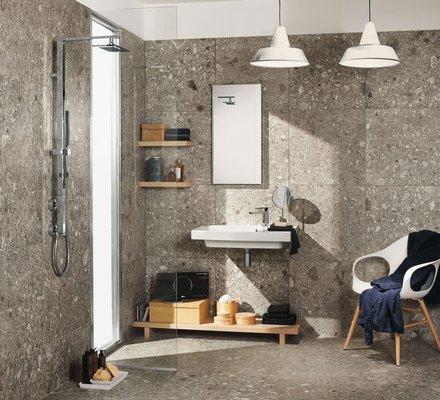 Rivestimenti bagno in gres porcellanato mirage - Bagno rivestimento pietra ...