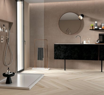 Porcelain Bathroom Floor And Covering Tiles Mirage