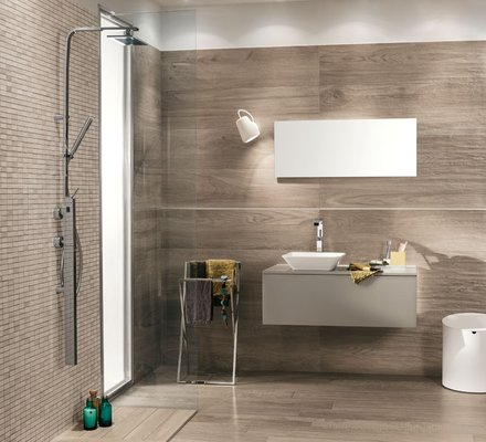 Rivestimenti bagno in gres porcellanato mirage for Piastrelle bagno piccolo