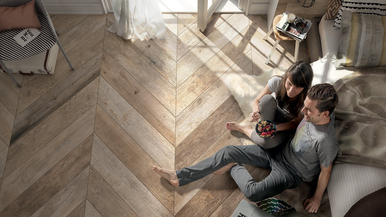 NooN - Noon, Ceramic Wood Effect Tiles by Mirage