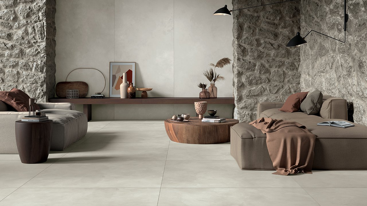 Clay - The new concrete-resine effect tiles