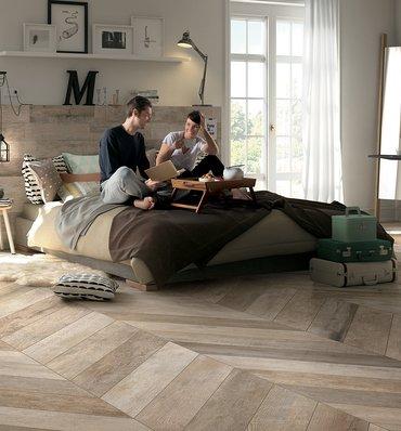 Wood Effect Bathroom Floor