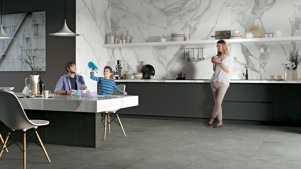 Jewels - The Jewels Collection of Marble Effect Flooring | Mirage