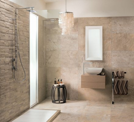 Porcelain Bathroom Floor And Covering Tiles Mirage