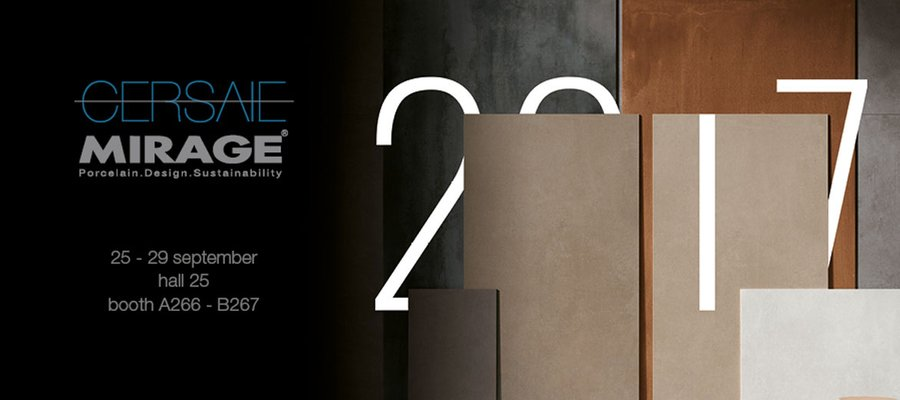 Le novit mirage in anteprima a cersaie 2017 mirage for Cersaie 2017 espositori