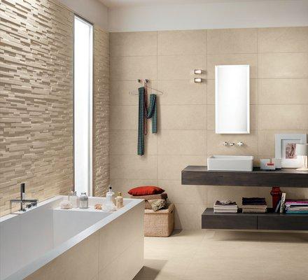 piastrelle bagno moderno collezione stones 20 mirage
