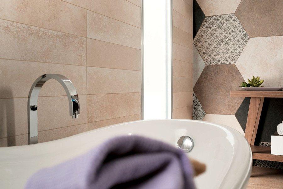 Sala Da Bagno Stile Contemporaneo : A misura di bagno. ceramica per ogni dimensione mirage